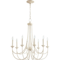 Quorum 6250-8-70 Brooks 8 Light 29 inch Persian White Chandelier Ceiling Light