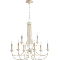 Quorum 6250-9-70 Brooks 9 Light 29 inch Persian White Chandelier Ceiling Light