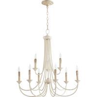 Quorum 6250-9-70 Brooks 9 Light 29 inch Persian White Chandelier Ceiling Light