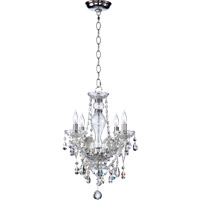 Quorum 630-4-514 Bohemian Katerina 4 Light 16 inch Chrome Chandelier Ceiling Light in Clear Crystal