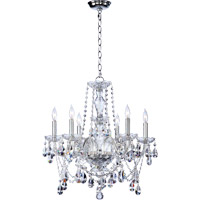 Bohemian Katerina 6 Light 23 inch Chrome Chandelier Ceiling Light