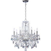 Quorum 630-8-514 Bohemian Katerina 8 Light 23 inch Chrome Chandelier Ceiling Light