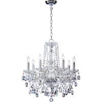 Quorum 630-8-514 Bohemian Katerina 8 Light 23 inch Chrome Chandelier Ceiling Light