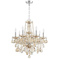 Quorum 630-8-614 Bohemian Katerina 8 Light 23 inch Chrome Chandelier Ceiling Light