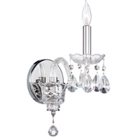 Quorum 631-1-514 Bohemian Katerina 1 Light 5 inch Chrome Wall Sconce Wall Light