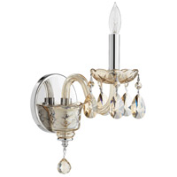 Quorum 631-1-614 Bohemian Katerina 1 Light 5 inch Chrome Wall Sconce Wall Light