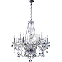 Quorum 631-12-514 Bohemian Katerina 12 Light 32 inch Chrome Chandelier Ceiling Light