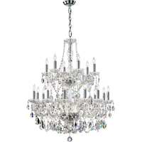 Quorum International Bohemian Katerina 18 Light Chandelier in Chrome 631-18-514