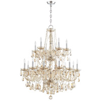 Quorum 631-18-614 Bohemian Katerina 18 Light 32 inch Chrome Chandelier Ceiling Light