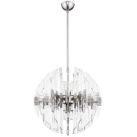 Zion 6 Light 23 inch Satin Nickel Pendant Ceiling Light
