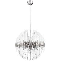 Quorum 6310-23-65 Zion 6 Light 23 inch Satin Nickel Pendant Ceiling Light