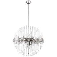 Quorum 6310-27-65 Zion 8 Light 27 inch Satin Nickel Pendant Ceiling Light