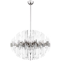 Zion 8 Light 23 inch Satin Nickel Pendant Ceiling Light