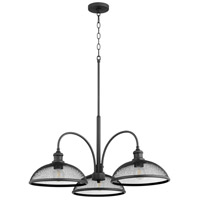 Quorum 6312-3-69 Omni 3 Light 32 inch Noir Mini Chandelier Ceiling Light