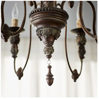 Quorum 6316-6-39 Salento 6 Light 25 inch Vintage Copper Chandelier Ceiling Light alternative photo thumbnail