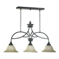 Quorum International Anatola 3 Light Island Light in Old World 6319-3-95