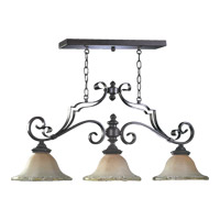 Quorum International Delphi 3 Light Island Light in Coffee 6321-3-13