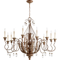 Venice 12 Light 40 inch Vintage Copper Chandelier Ceiling Light