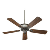 Roderick 52 inch Oiled Bronze with Teak Blades Ceiling Fan