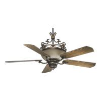 Quorum International Turino 4 Light Ceiling Fan in Corsican Gold 63565-88