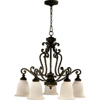Alameda 5 Light 31 inch Oiled Bronze Dinette Chandelier Ceiling Light