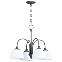 Quorum 6409-4-17 Celeste 4 Light 22 inch Zinc Chandelier Ceiling Light