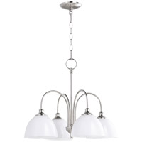 Quorum 6409-4-62 Celeste 4 Light 22 inch Polished Nickel Chandelier Ceiling Light