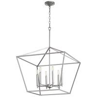 Quorum 644-6-64 Gabriel 6 Light 24 inch Classic Nickel Nook Ceiling Light Quorum Home