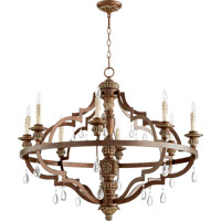 Venice 8 Light 37 inch Vintage Copper Chandelier Ceiling Light