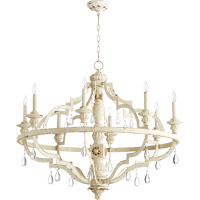 Venice 8 Light 37 inch Persian White Chandelier Ceiling Light