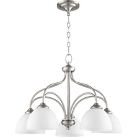 Quorum International Brooks 5 Light Nook in Satin Nickel 6450-5-65