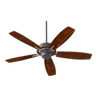 Quorum International SOHO Ceiling Fan in Toasted Sienna 64525-44