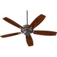 Quorum International SOHO Ceiling Fan in Toasted Sienna 64525-44