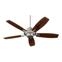 Quorum 64525-65 Soho 52 inch Satin Nickel Ceiling Fan