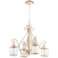 San Miguel 4 Light 27 inch Persian White Chandelier Ceiling Light