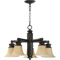 Quorum International Madison 5 Light Dinette Chandelier in Old World 6474-5-95