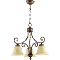 Quorum 6478-3-186 Tribeca II 3 Light 23 inch Oiled Bronze Dinette Chandelier Ceiling Light