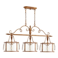 Quorum 6506-3-94 Salento 3 Light 42 inch French Umber Island Light Ceiling Light