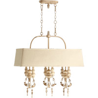 Quorum 6506-6-70 Salento 6 Light 32 inch Persian White Island Light Ceiling Light