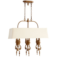 Quorum International Salento 6 Light Island Light in French Umber 6506-6-94