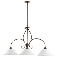 Quorum 6510-3-186 Spencer 3 Light 45 inch Oiled Bronze Island Light Ceiling Light photo thumbnail