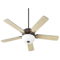 Quorum 6525-286 Virtue 52 inch Oiled Bronze with Oiled Bronze and Weathered Oak Blades Ceiling Fan Quorum Home