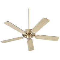Quorum 6525-86 Virtue 52 inch Oiled Bronze with Oiled Bronze and Weathered Oak Blades Ceiling Fan Quorum Home