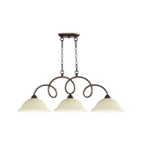 Quorum International Maris 3 Light Island Light in Oiled Bronze 6527-3-86