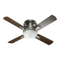 Davenport 52 inch Antique Silver Ceiling Fan in Antique Silver and Walnut