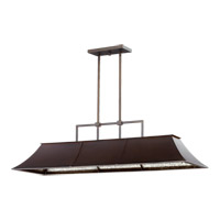 Quorum International Vanguard 6 Light Island Light in Oiled Bronze 657-6-86