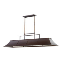 Quorum International Vanguard 8 Light Island Light in Oiled Bronze 657-8-86