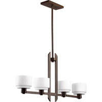 Quorum International Stillman 4 Light Island Light in Oiled Bronze 6587-4-86