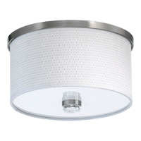 Quorum 659-11-65 Copeland 1 Light 12 inch Satin Nickel Flush Mount Ceiling Light