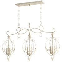 Ariel 9 Light 41 inch Persian White Island Light Ceiling Light